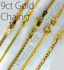 9ct Gold Chains