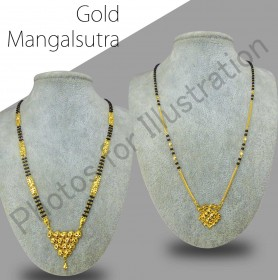 Gold Mangalsutra (Display)