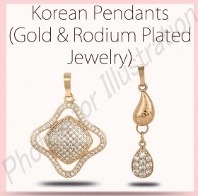 Fashion Pendents (Gold & Rodium Plated Jewelry