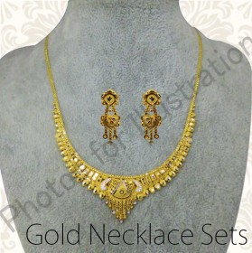 GOLD NECKLACE SETS(20CT,21CT AND 22CT GOLD)