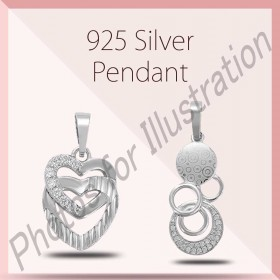 925 Sterling Silver Pendents